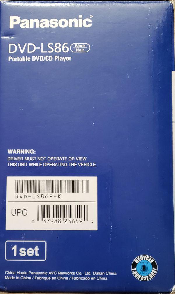 Panasonic LS86 Portable DVD player