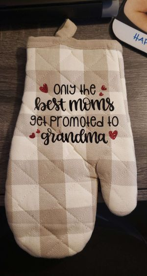 The Best Moms Get Promoted to Grandmas Oven Mitt for Sale in Glendale, AZ