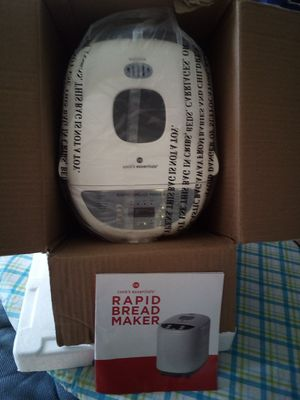 Rapid bread maker. NEW for Sale in Crouse, NC