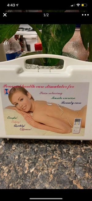 personal health care stimulator for pain velaxing muscle exercise beauty care for Sale in Phoenix, AZ