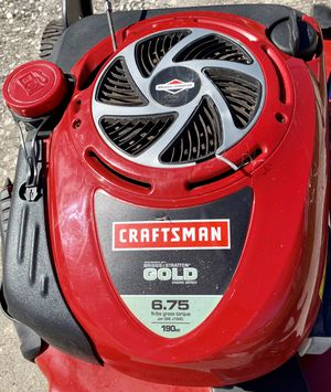 "Craftsman GOLD Edition 22"" Self Propelled Lawn Mower - Starts 1st Pull - 6.75hp Engine Works Great for Sale in Lakeland, FL"
