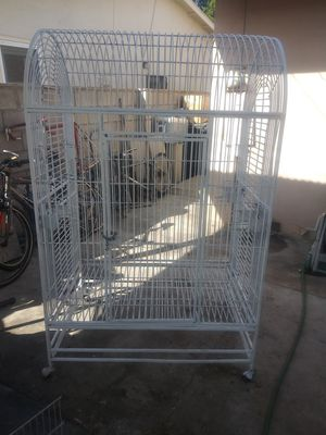 """Parrot cage 5'7""""high x 43"""".5×30 for Sale in Santa Ana, CA"""