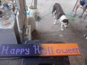 Wood halloween decoration for Sale in Port Richey, FL