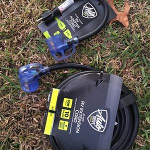 RV Power Adapter And Extension Cord for Sale in Spring Hill, FL