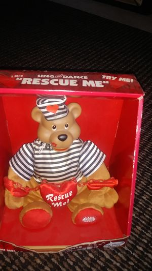 Sing dance rescue me bear for Sale in Oregon, OH