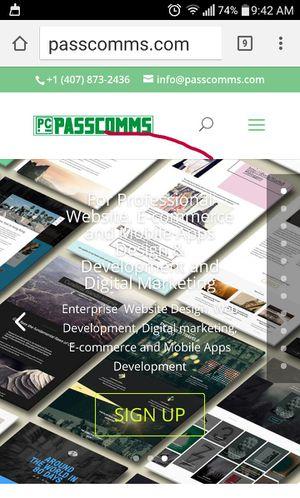 Enterprise website design and hosting promo for Sale in Orlando, FL