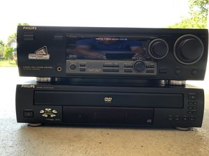Philips home theater surround sound system with 5 disc DVD /CD player for Sale in Strongsville, OH