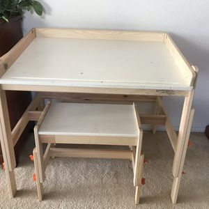IKEA Adjustable Kids' Desk And Bench for Sale in San Diego, CA