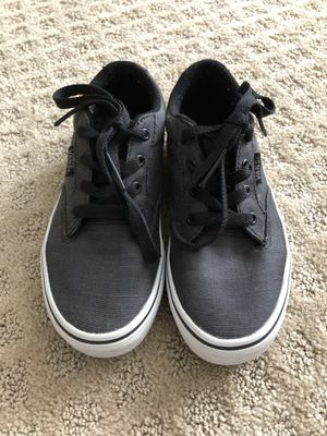 Kids Vans shoes size youth1 for Sale in Cleveland, OH