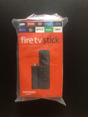 AMAZON FIRE TV STICK with Alexa Voice for Sale in Los Angeles, CA
