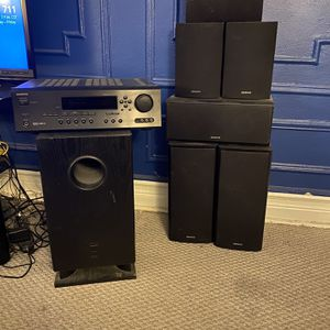 Onkyo 7 Speaker Stereo System for Sale in Brooklyn, NY