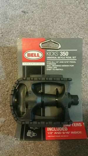 Bell kicks 350 universal bike pedal set for Sale in Atlanta, GA