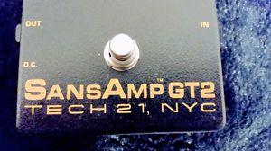 SansAmp GT2 TECH 21 original! Modeling pedal for Sale in Portland, OR
