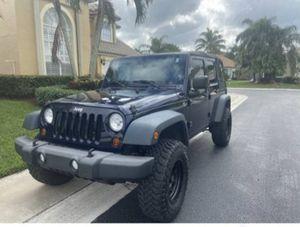 2013 Wrangler Jeep for Sale in Jupiter, FL