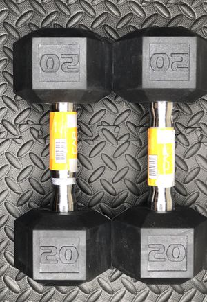 20 Lbs dumbbells / weight lifting for Sale in Orlando, FL