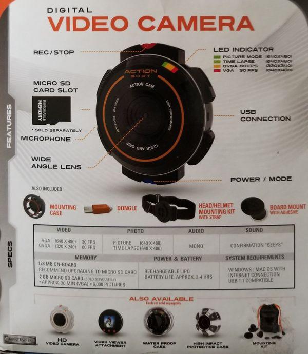 Action Shot Digital Video Camera