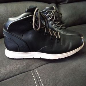 Timberland Killington Black Leather Boots Size 12 $40. O.B.O. for Sale in Clinton Township, MI