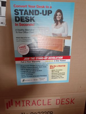 Stand up desk brand new in the box for Sale in Vallejo, CA