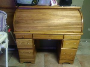 Old roll up desk for Sale in Modesto, CA
