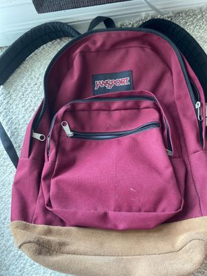 Red Jansport backpack for Sale in Miami Beach, FL