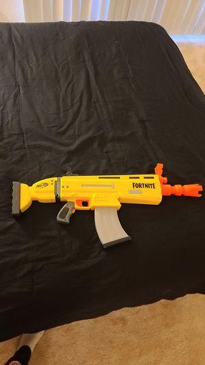 Nerf gun Fortnite SCAR for Sale in Huntington Beach, CA