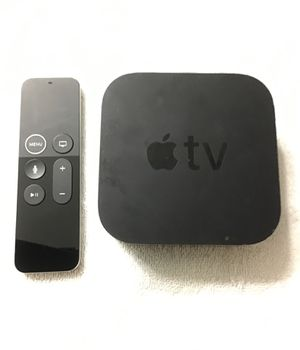 Apple TV Gen 5 4K Ultra High Definition!! Comes With Remote and Cables!!! 32GB Memory!!! Perfect Condition!!! for Sale in Phoenix, AZ