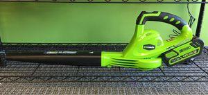 Greenworks 40 Volt 150MPH Cordless Leaf Blower for Sale in Oak Park, MI