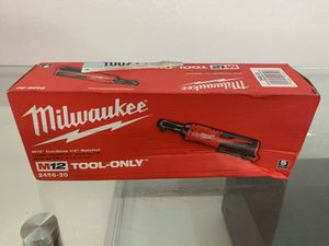 Milwaukee 2456-20 M12 1/4 Ratchet tool Only for Sale in Coral Gables, FL