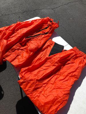 Jafrum 2 piece motorcycle rain suit XL for Sale in Manassas, VA