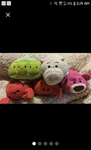 Tsum tsum plush set for Sale in Broxton, GA
