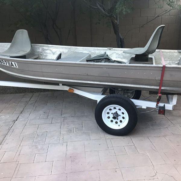 12' Sea King Aluminum Fishing Boat