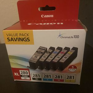 Canon 280XL 280 Value Saving Pack for Sale in Riverside, CA