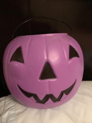 Halloween candy bucket for Sale in Mechanicsville, VA