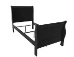 Black Twin Bed Frame (Matterss Optional) for Sale in Corona, CA