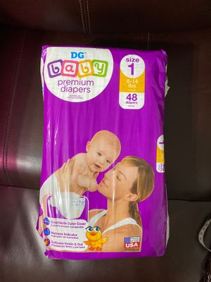 Baby premium diapers size 1 for Sale in Hialeah, FL