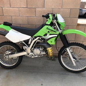 05 Kawasaki KDX 200 mint condition for Sale in Huntington Beach, CA