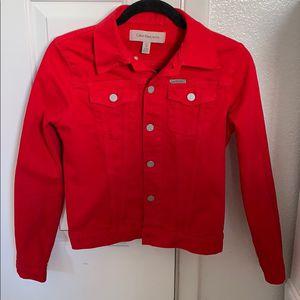 Red Denim Calvin Klein Jacket for Sale in Woodbridge, VA
