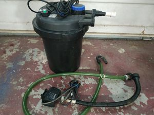 Use pond canister filter for Sale in Ontario, CA