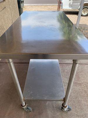 Mesa de inoxidable for Sale in Phoenix, AZ