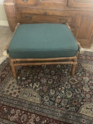 Vintage Ficks Reed Ottoman for Sale in Oceanside, CA