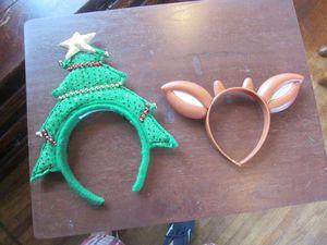2 holiday headware for Sale in Aurora, IL