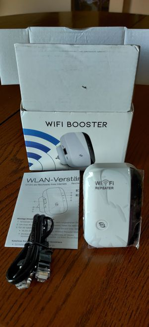 BRAND NEW WI-FI BOOSTER EXTENDER. for Sale in Wesley Chapel, FL
