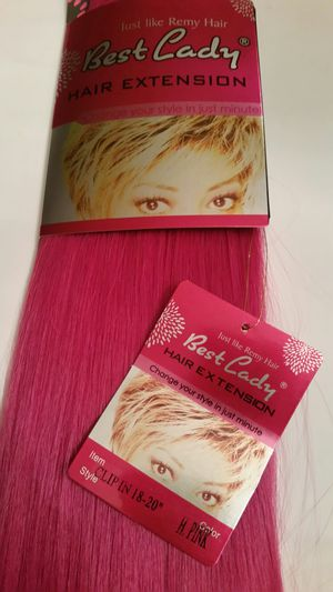 """18 """" Pink hair extensions for Sale in Downey, CA"""