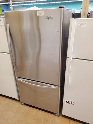 Whirlpool Bottom Freezer Refrigerator for Sale in Whittier, CA