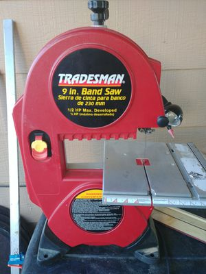 Tradesman L 2.5 Amp 9-Inch Band Saw for Sale in West Point, UT