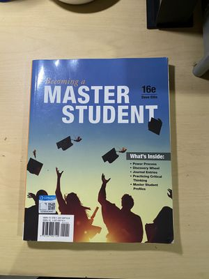 Becoming a Master Student for Sale in Cicero, IL