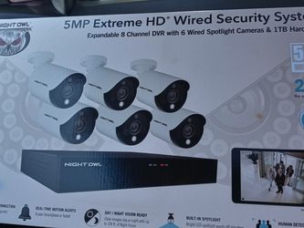 5mp Extreme HD Wired Security System for Sale in Vallejo,  CA