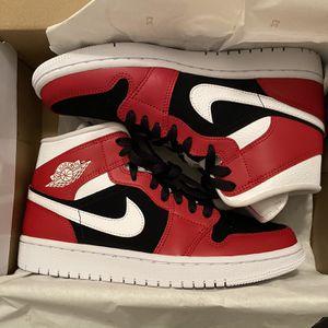 "Jordan 1 Mid ""Gym Red Black"" (W) for Sale in Arlington, VA"