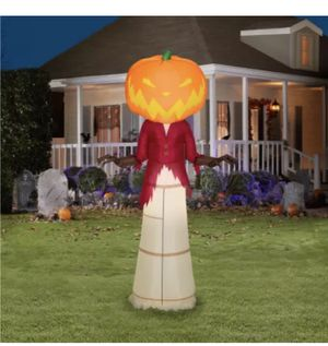 Nightmare Before Christmas 5 Ft Pumpkin King Airblown LED Inflatable Gemmy NIB for Sale in Chicago Ridge, IL
