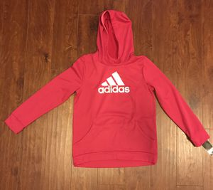 Girl's adidas pocketed hoodie (size XL: 14/16) for Sale in Florissant, MO
